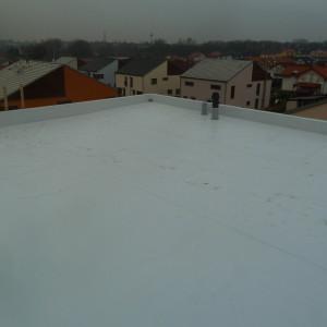 Střecha+terasa Klecany – Multiplan